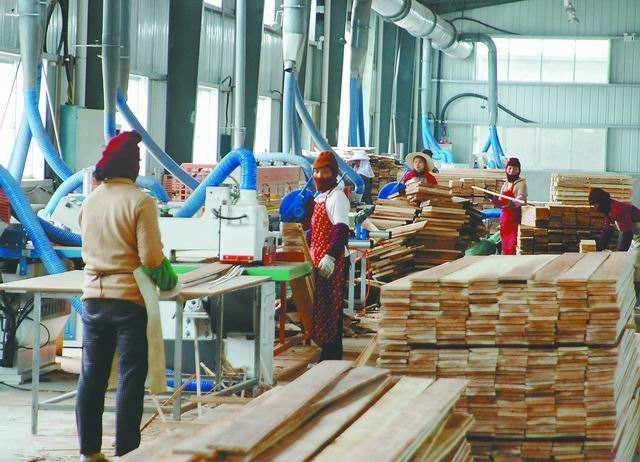 木材加工廠車間