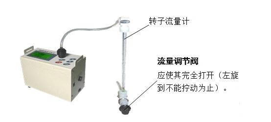 LD-5微電腦粉塵檢測儀的操作步驟(詳解)